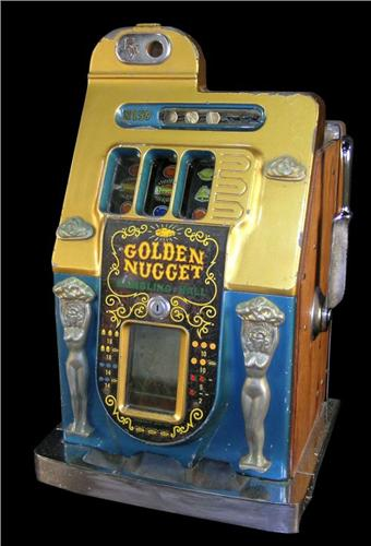mills golden nugget 5 cent slot machine