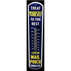 Mail pouch thermometer porcelain 8 x 39 for Poolthermometer obi