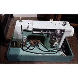 VINTAGE NEW HOME PORTABLE SEWING MACHINE