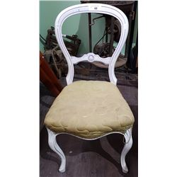 VINTAGE BALLOON BACK CHAIR
