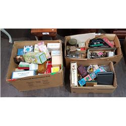 3 BOX LOTS OF COLLECTIBLES