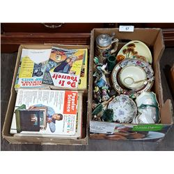 2 BOX LOTS COLLECTIBLES