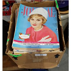 COLLECTION OF VINTAGE LADIES HOME JOURNAL MAGAZINES