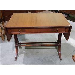 VINTAGE SPRAGUE MAHOGANY DUNCAN PHYFFE DROP LEAF DESK