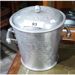VINTAGE PEWTER ICE BUCKET