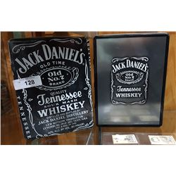 2 JACK DANIELS COLLECTOR TINS