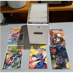 APPROXIMATELY 104 COLLECTIBLE COMIC BOOKS
