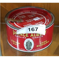 PRINCE ALBERT CRIMP CUT TOABACCO TIN