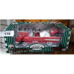 SKY CHIEF LIMITED EDITION 1957 CHEVY BELAIR DIECAST CAR BY DEERBOX