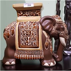 DECORATIVE ELEPHANT PLANT STAND