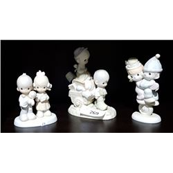 3 PRECIOUS MOMENTS FIGURINES