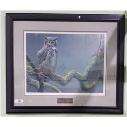 SIGNED LIMITED EDITION ROBERT BATEMAN PRINT