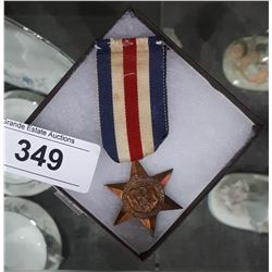 WWII THE FRANCE AND GERMAN STAR MEDAL