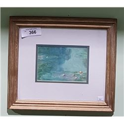 FRAMED PRINT OF WATERCOLOR