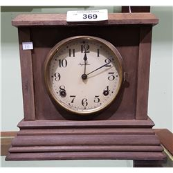 VINTAGE INGRAHAM MANTLE CLOCK