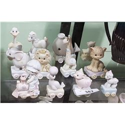12 PIECE PRECIOUS MOMENTS BIRTHDAY SET