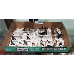 APPROXIMATELY 37 HAGEN-RENAKER MINIATURE PORCELAIN FIGURINES