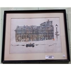 FRAMED WATERCOLOR