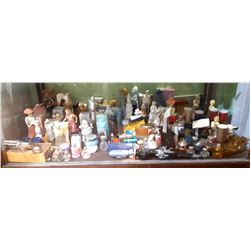 LARGE COLLECTION OF AVON PERFUME BOTTLES