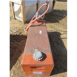 60 GALLON FUEL TANK (WES-STEEL) *COMPLETE WITH HAND PUMP*