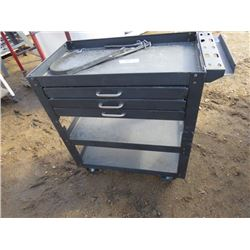 TOOL TROLLEY (METAL WITH 3 DRAWERS)