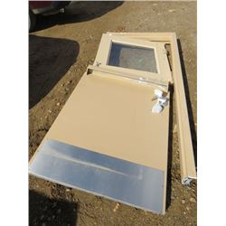 "METAL SPLIT DOOR ( 36"") *COMPLETE WITH FRAME)"
