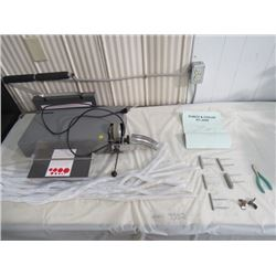 COIL BOOK MAKING MACHINE AND REPAIR KIT (PERFORMANCE DESIGN INC.) *SOME COILS INCLUDED*