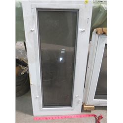 """LOT OF WINDOWS AND METAL SOFFET (NEW) * 1ST WINDOW 34"""" X 15.5""""* (2ND WINDOW 34.5"""" X 22.5"""") * 4  PACK"""