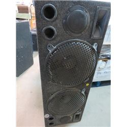 "SPEAKER BOX FOR CAR AUDIO ( 2 X 12"" SPEAKER BOX) *MADE IN USA*"