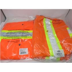 LOT OF 2 RAIN JACKETS (LARGE AND EXTRA LARGE)