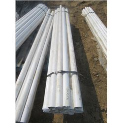 LOT OF 25 METAL POLES (6')