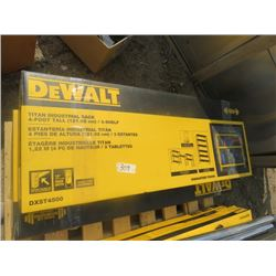 DEWALT METAL SHELF (4' TALL) *1500LB CAPACITY*