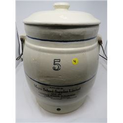5 GALLON CROCK WATER COOLER