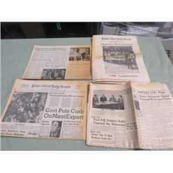 NEWSPAPERS (CHAMBER OF COMMERCE) *75TH ANNIVERSARY*
