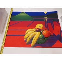 PAINTING (FRUIT OF LA NUIT) *SIGNED* (NOT FRAMED) *1988*
