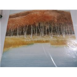 PAINTING (BRICK GROVE) *NOT FRAMED* (SIGNED)
