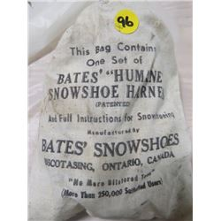 ONE SET OF HUMANE SNOWSHOE HARNESS (BATES BRAND)