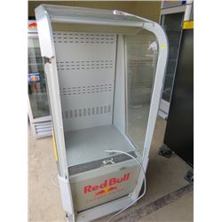 "RED BULL FRIDGE/COOLER (58X25X30)*NOT GARANTEED TO WORK, SOLD IN ""AS IS"" CONDITION*"