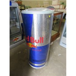 "RED BULL FRIDGE/COOLER (40X58X18)*NOT GARANTEED TO WORK, SOLD IN ""AS IS"" CONDITION*"