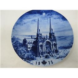 DECORATIVE PLATE (CANADA CHRISTMAS) *1975* (LIMITED EDITION)