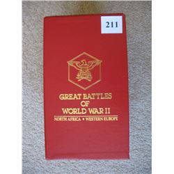 READERS DIGEST VHS SET  (GREAT BATTLES OF WWII) *SET OF 4 VHS TAPES*