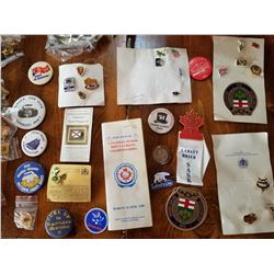 CURLING PIN COLLECTION (50 YEARS) *300+ ITEMS*