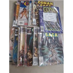 LOT OF 20 COMIC MAGAZINES (20 ISSUES) *CONAN SAGA*