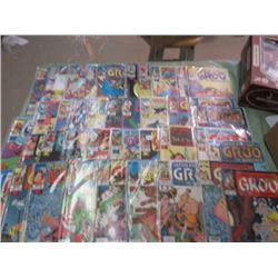 LOT OF COMICS (GROO THE WANDERER) *41 TO 80 INCLUSIVE*