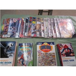LOT OF COMICS ( 15 CONAN AND 4 COMIC PRICE GUIDES)