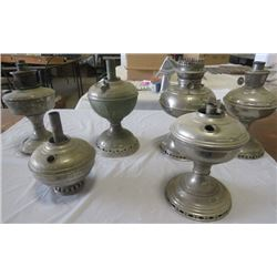 LOT OF 6 LAMPS (ALLADIN, RAYO, BTH)