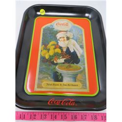 """COCA-COLA """"THE YEAR ROUND DRINK"""" TRAY"""