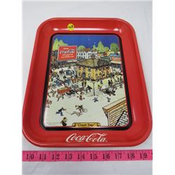 """COLA-COLA """"COURT DAY"""" 1921 TRAY"""