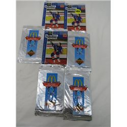 LOT OF 7 SEALED PACKS OF HOCKEY (GRETZKY UPPER DECK AND ALL STARS UPPER DECK)