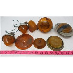 LOT OF MARKER LIGHTS AND LENSES (4)